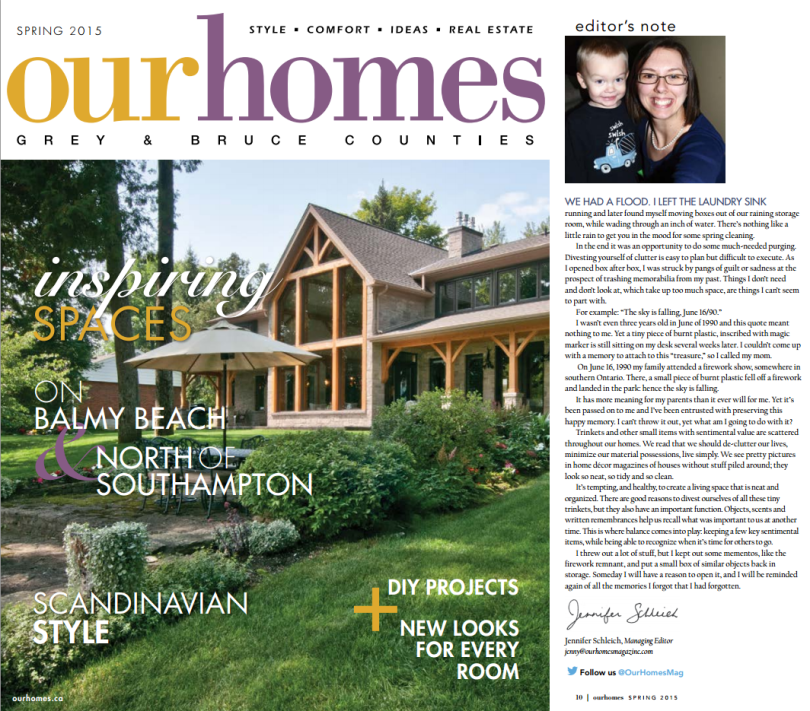 Our Homes Mag Spring 15
